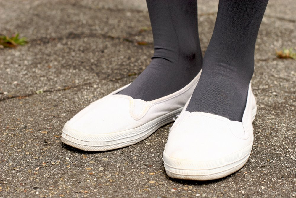 Womens white slip on shoes В» Clothing stores